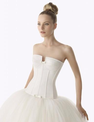 vestido de novias a la medida, con previa cita