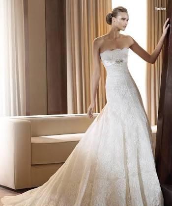 vestido de novias encaje