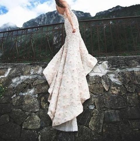 vestido de novia/xv con piedras swarovski de eugenia novias