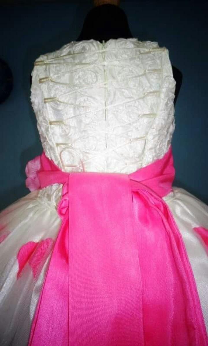 Único Vestido De Dama De Pétalos De Color Rosa Colección - Colección ...