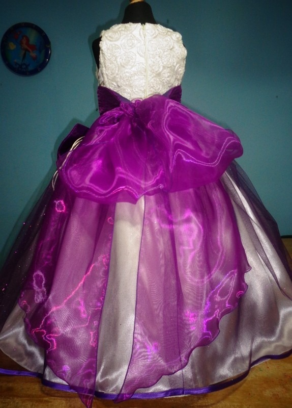 Vestido De Novia Morado