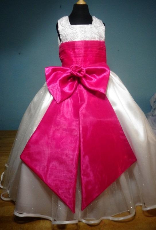 Vestido De Paje Pajecita Para Niña Tipo Tutu Color Fiusha - $ 850.00 ...