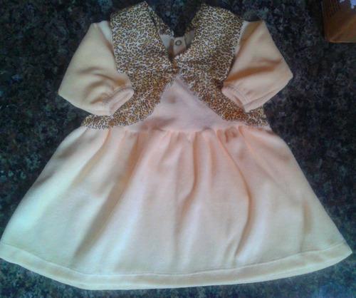 vestido de plush