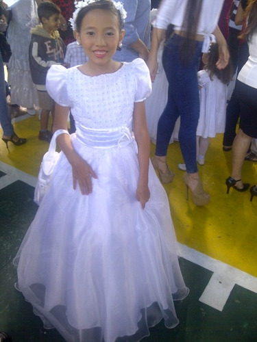 vestido de primera comunión