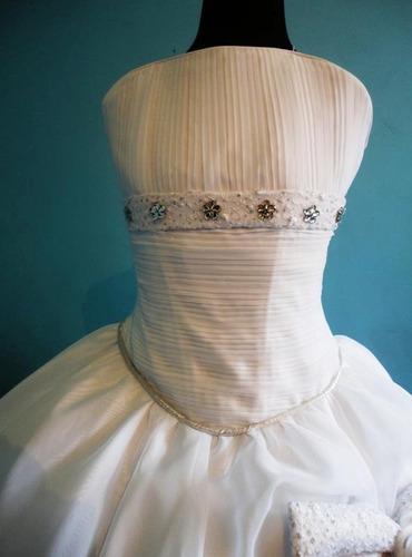 vestido de primera comunión modelo melissa