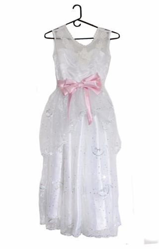 vestido  de primera comunión talla ,10  // remate cod 1