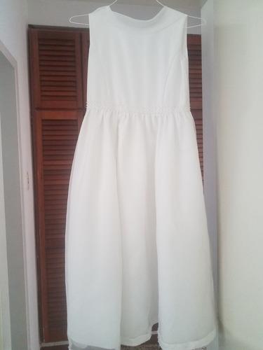 vestido de primera comunion talla 12