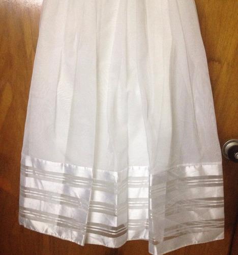 vestido de primera comunion usado en muy buen estado