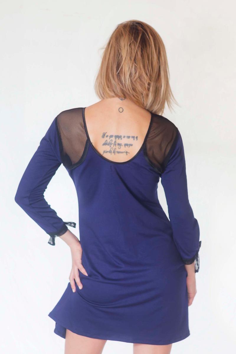 Vestido largo punto roma