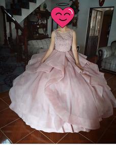 7a25389c7 Vestido De Quince Años Color Rosa Pastel