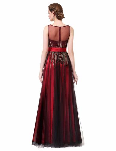 vestido de quince-fiesta- egreso bordado talle s
