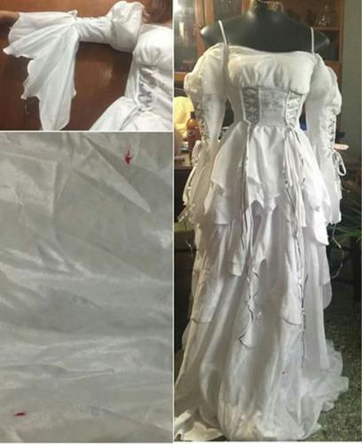 vestido de quince o boda small acepto tarjeta de credito