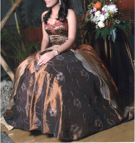 vestido de quinceañera usado