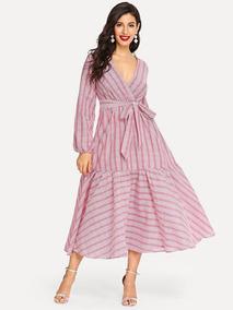 85270c0ef Vestidos En Aguascalientes Largos - Vestidos Casual Rosa en Mercado Libre  México