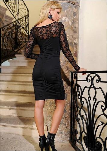 vestido de renda pronta entrega