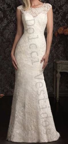 vestido de renda, sereia longo de noiva, casamento d046