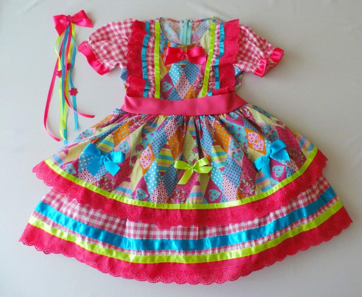 Vestido De São João 28c2eaa836d