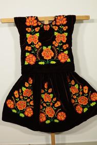 Vestido De Tehuana Vestido Istmo Oaxaca Huipil Telar