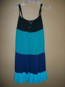 f2358ba44e1b Vestido De Tirantes De Colores Moda I Dama Talla M-34