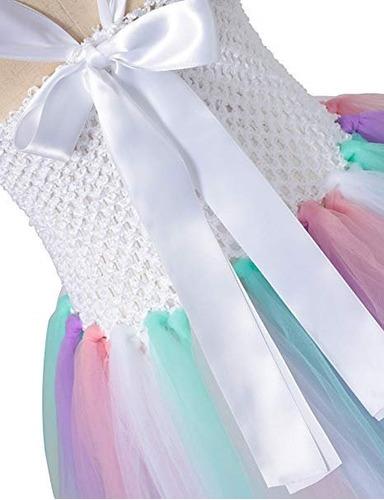 vestido de unicornio con diadema y alas disfraz niñas diane
