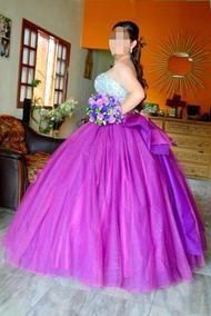 Vestidos De Xv Guindas Largos Mujer Veracruz Coatepec