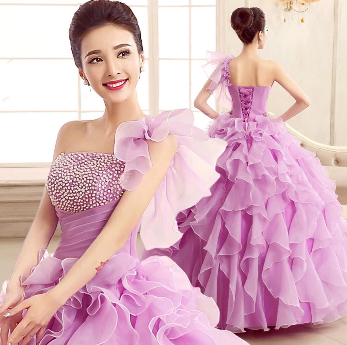 Hermosa Vestidos De Dama Violeta Fotos - Colección de Vestidos de ...