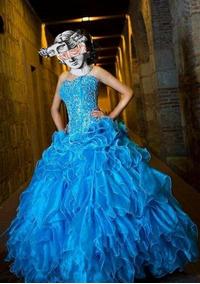 Vestidos De Xv Guindas Vestidos De Mujer Largo Celeste En