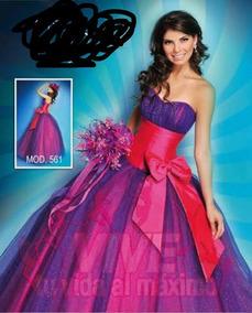 Vestidos De Xv Tintos Vestidos De Mujer Largo M En
