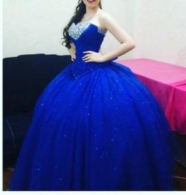 Vestido De Xv Años Azul Rey