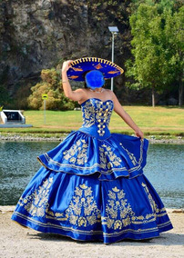 Vestidos Ampones De Charra Vestidos De 15 Usado En