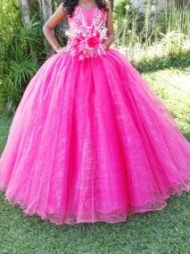 03a3792fe Vestido De Xv Años. Color  Rosa Coral