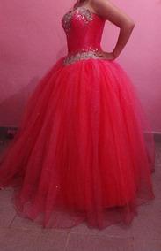 Vestido Xv Color Coral Vestidos De Largos Vestidos De