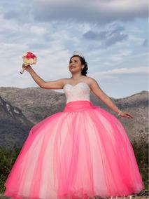 1ae516ed4 Vestido De Xv Años Color Rosa en Mercado Libre México