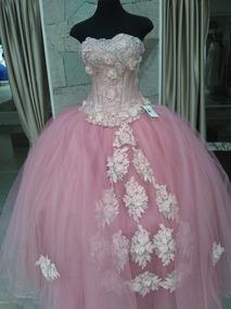 Vestido De Quince Rosa Vestidos Xv Mujer Chiapas Vestidos