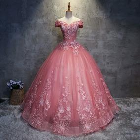 9f88a5a0d9 Vestidos De 15 Años Economicos Color Rojo en Mercado Libre México