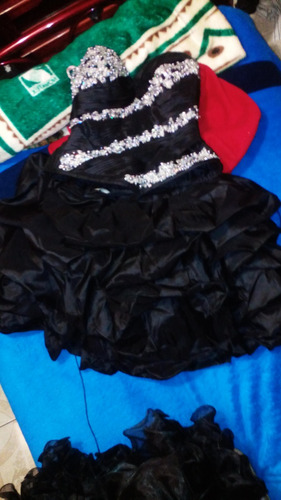 vestido de xv años negro