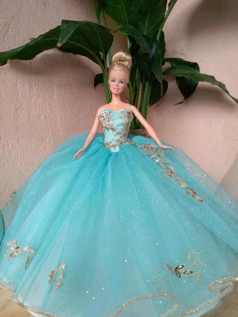 Barbie Xv De Para Vestido Muñecas Años Szgquvmp