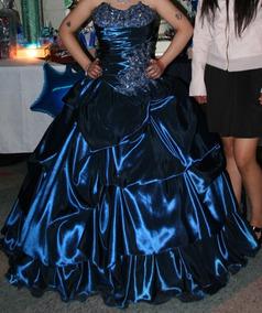 c79181ff7 Vestido Color Azul Petroleo - Vestidos en Mercado Libre México