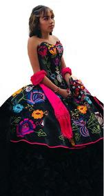 Vestidos Mexicanos Modernos Mujer De Xv Largos Vestidos De