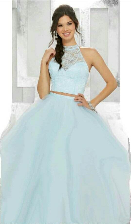 74bc32efdd6 Vestido Debutante 15 Anos Longo E Curto 3×1