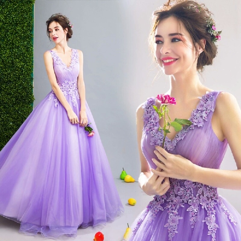 Poucos vestidos de debutante transmitem tanta pureza quanto esse!
