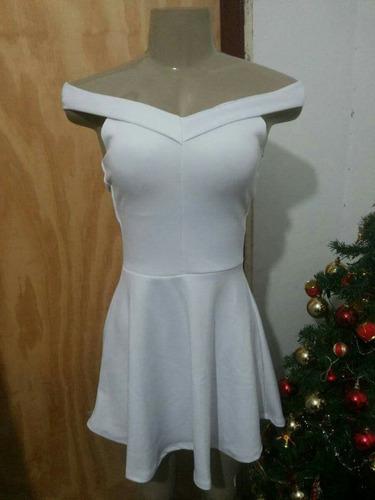 vestido decote princesa branco bojo p e g
