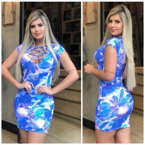 375263df2 Vestido Bege Estampa Flor Vermelha no Mercado Livre Brasil