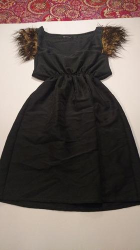 vestido delaostia talle 44 con peluchito mujer