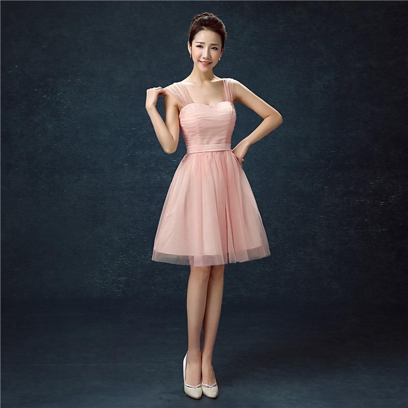 2a03db86a60 vestido delicado grados fiesta boda cóctel dama honor pink. Cargando zoom.
