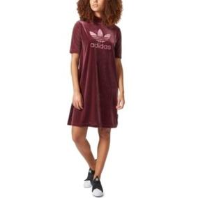 9a5fc790fc Vestido Deportivo De Terciopelo adidas Mujer 3583 - Brandlet