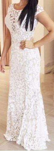 vestido devorê elastano festa madrinha casamento decote