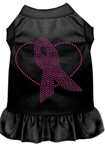vestido diamante de imitación cinta rosa negro sm (10)