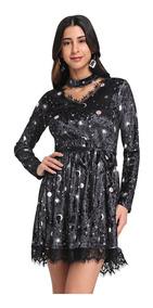 0244b95200c10c Vestidos Con Cinto Informales - Vestidos de Mujer Corto S en Mercado ...