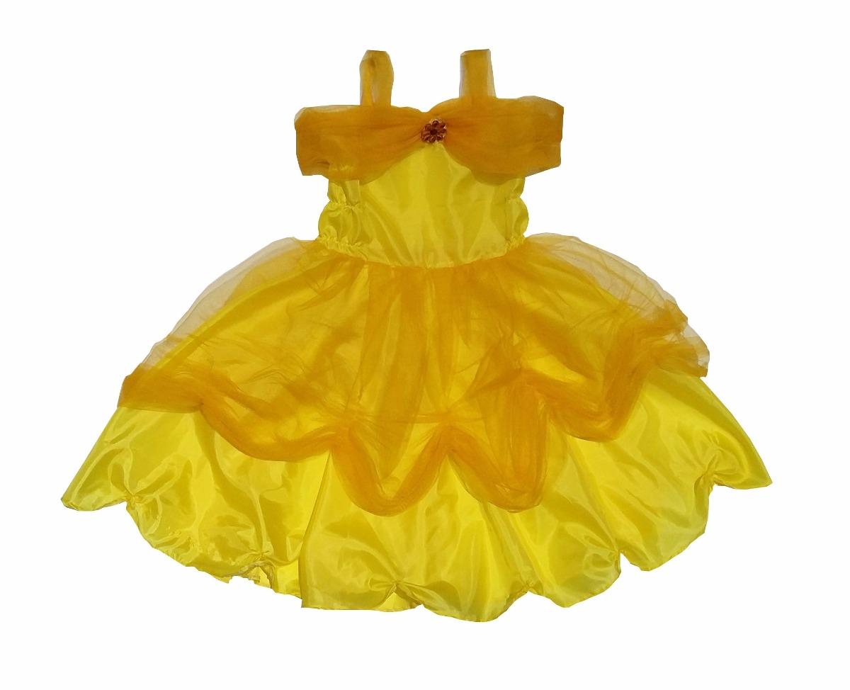 ae04cf145 Vestido Disfraz Bella Y Bestia Para Nena
